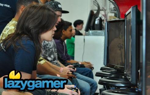 Girl gamer in the boys' domain
