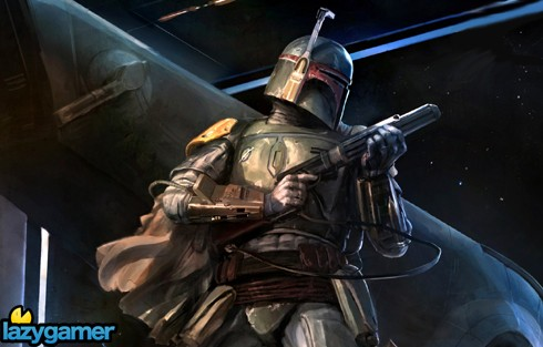 Boba Fett is so hardcore,that he watched Star Trek on Star Wars Day