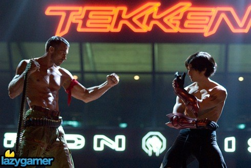I just found out that a movie of a popular fighting game is being made. I plan on tekken my girlfriend to see it.