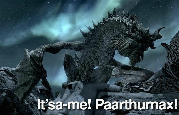 It'sa-me, Paarthurnax!