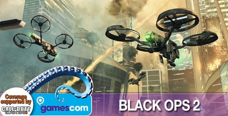 Black Ops 2 at Gamescom