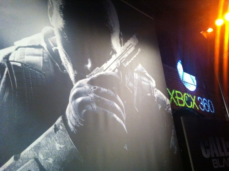 The event was sponsored by Xbox 360 and Turtlebeach