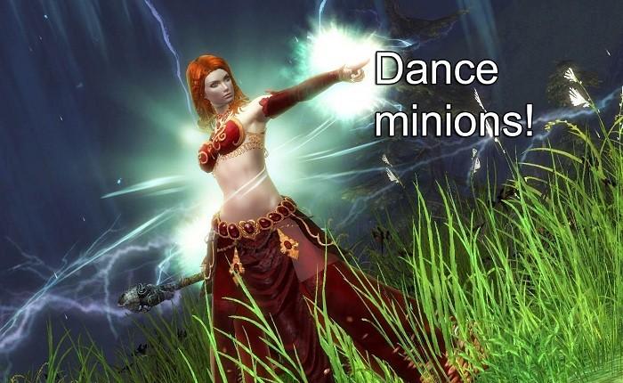 dance minions