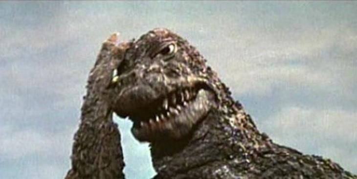 Godzilla epic facepalm