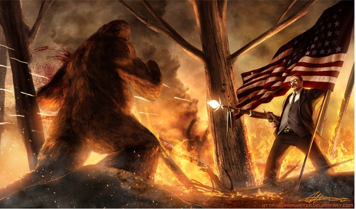 teddy_roosevelt_vs__bigfoot_by_sharpwriterd3a72w4.jpg