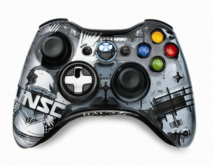 Halo 4 controller