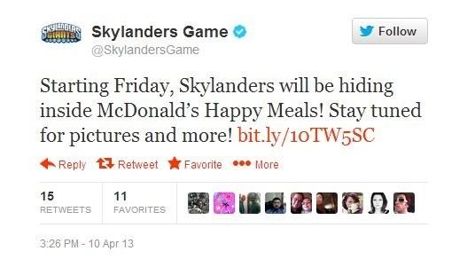 SkylanderTweet