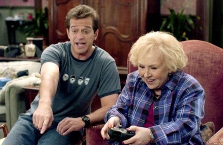 Quick grandma, teabag him!