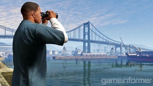 Some missions require a character to serve as a lookout, using binoculars to spot an incoming threat or the target for the heist
