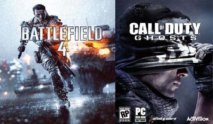 COD-Ghosts-vs.-Battlefield-4-by-visual-detail