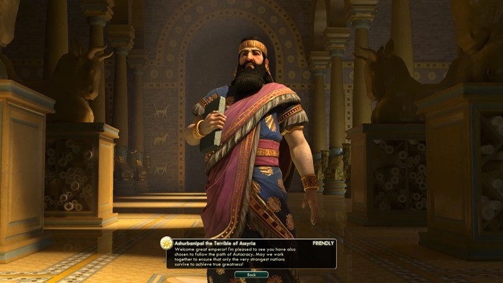CivVBNW_ReviewScreen_Ashurbanipal Ideology match