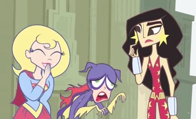 Look, Zoe finally became Batman