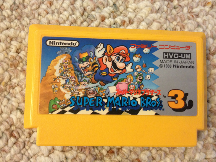super_mario_bros__3___famicom_cartridge_by_scoobydude51-d61tnz4