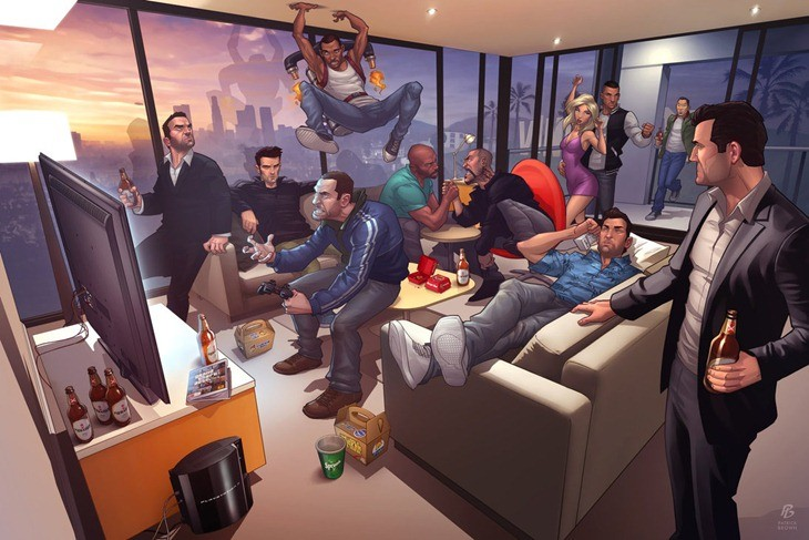 GTA Characters
