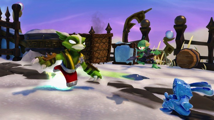 Skylanders SWAP Force Stink Charge  Stink Bomb Magna Charge