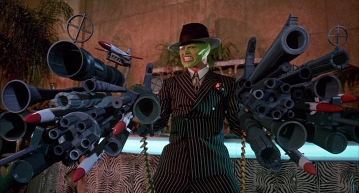 The-mask-guns