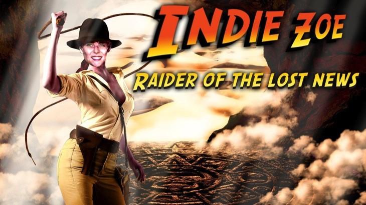 Indie zoe raider of lost news