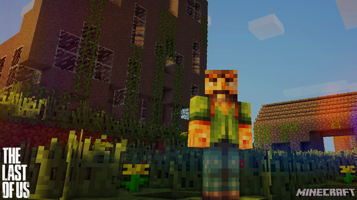 The last of us minecraft wallpaper by skiddlezizkewl d69zp6e