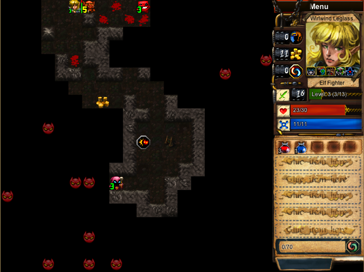 Desktop Dungeons dungeon