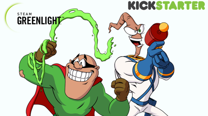 Earthworm Jim is returning! Groovy! | Lazygamer .:: The Worlds ...