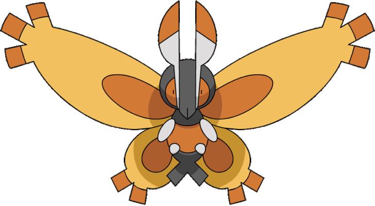 Mothim anime DP