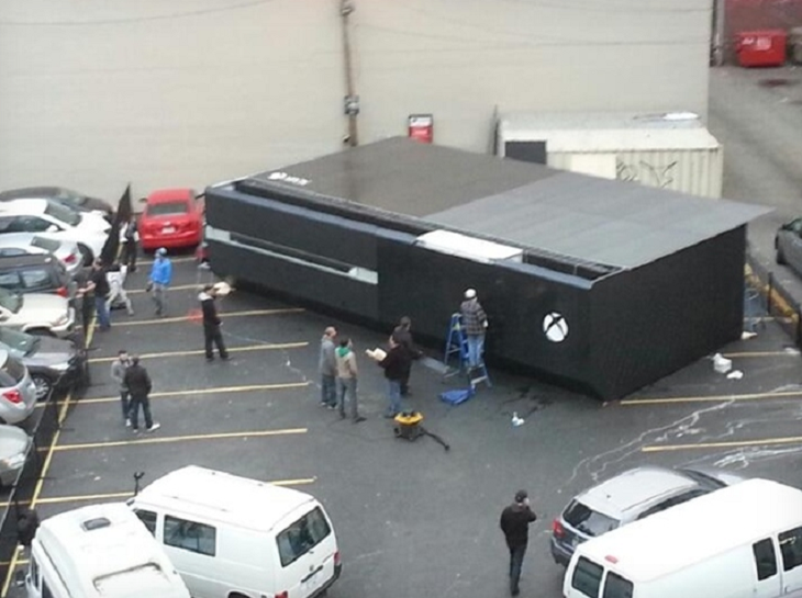 Xbox One, waiting to be fed more noobs