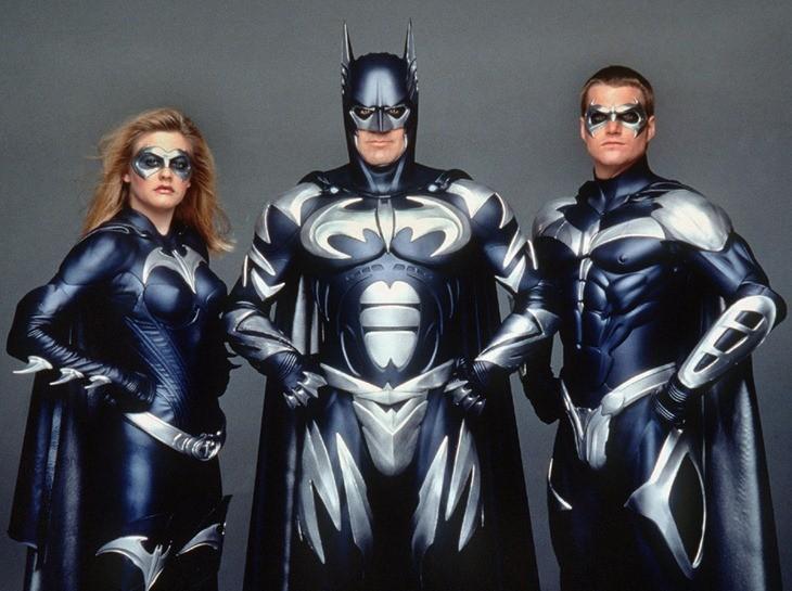 Batman ice suit