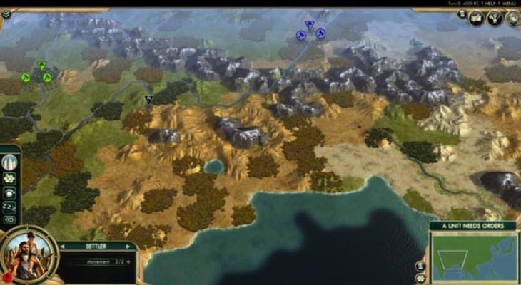 Scramble map 1