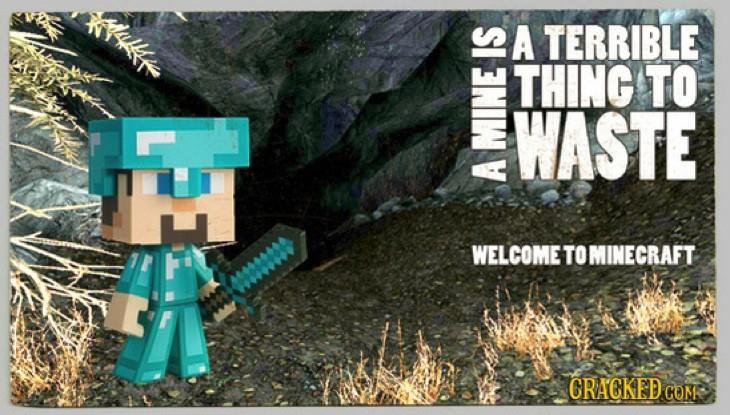 Minecraft joke
