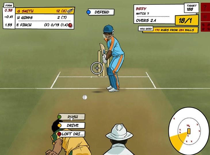 Beta cricket