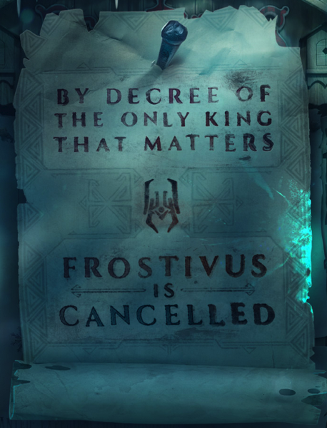 Frostivus cancelled