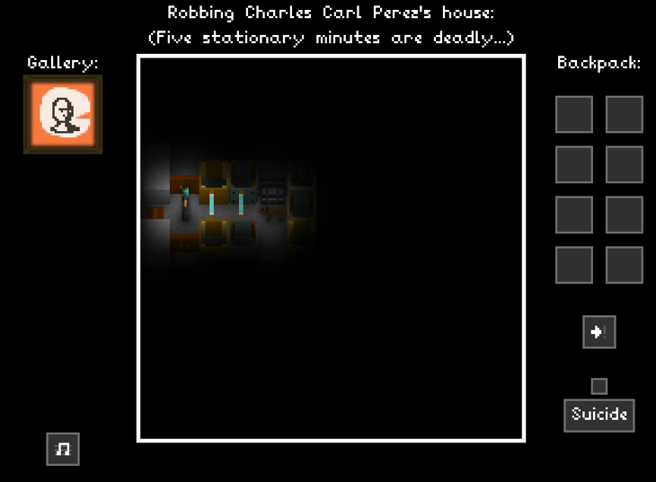 Castle Doctrine you are robbing