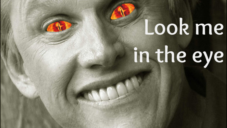 Gary Busey is the Dark Lord by AtomicGaryBusey