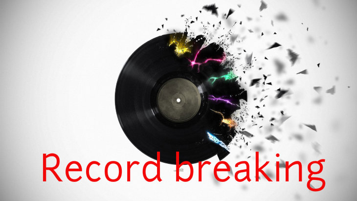 Record breaking