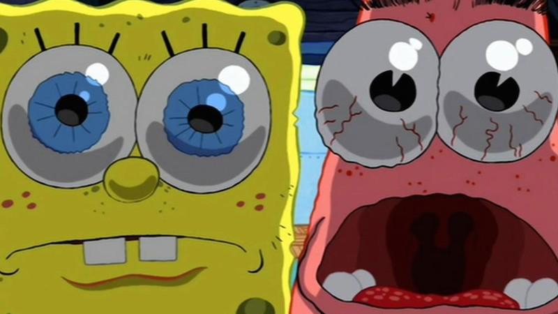spongebob surprised face wwwimgkidcom the image kid