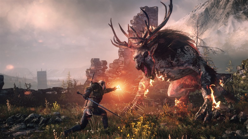 The Witcher 3 launch trailer shows why we all love this game