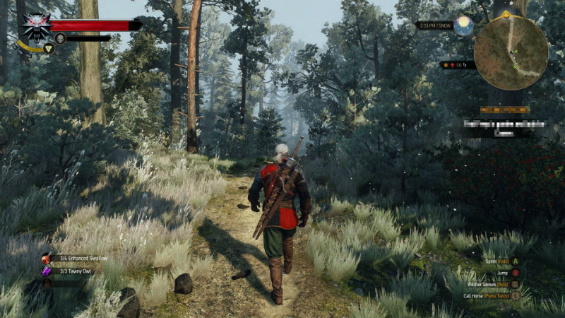 Kill all the things in new Witcher 3 video