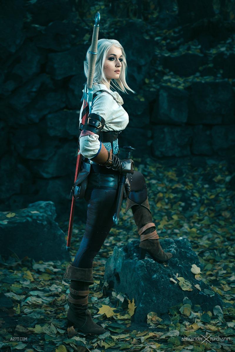 Ciri Witcher 3 Alternative Look