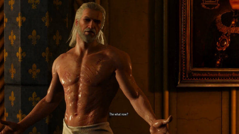 Geralt is a terrible lover in The Witcher 3
