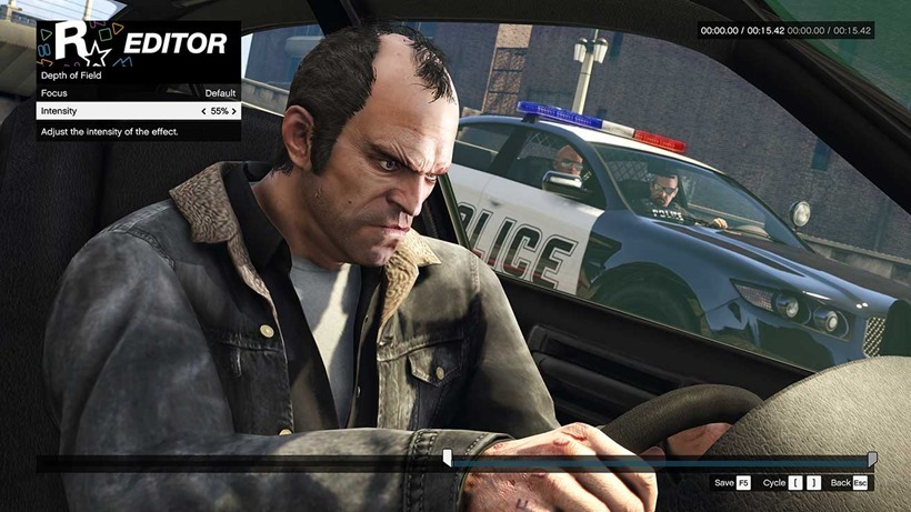 The GTA V Rockstar Editor finally comes to Xbox One and PS4 in the next update