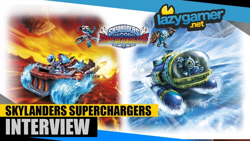 Get a good look at Skylanders new Superchargers