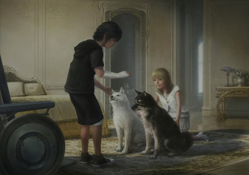 Final fantasy xv fishing chocobos and backstory lore for Ffxv fishing rods