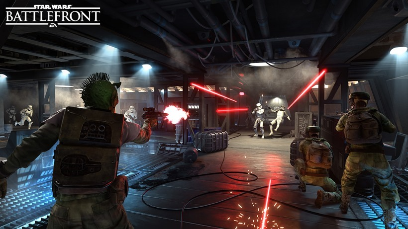 Star Wars Battlefront isn't hitting 1080p on either console