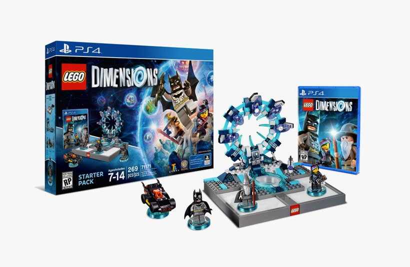 LEGO Dimensions just outsold both Disney Infinity and Skylanders in its first week in the UK
