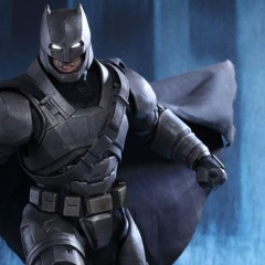 Hot Toys' armoured Batman v Superman figure is ready to fight