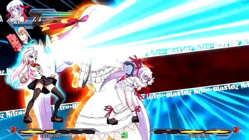 Nitroplus Blasterz – Heroines Infinite Duel