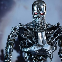 Even a sixth-scale replica Terminator is terrifying