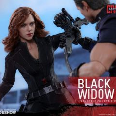 Hot Toys – Civil War Black Widow preview