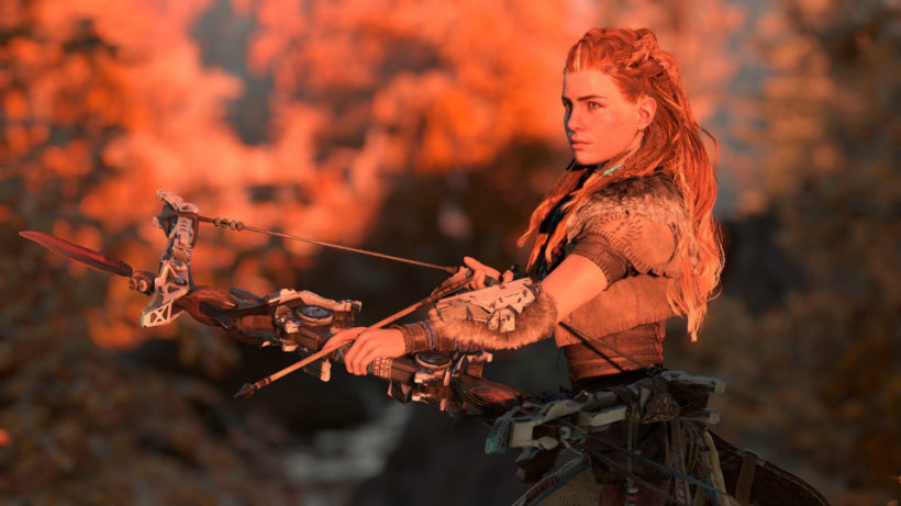 Aloy can swim, fish and cleanse the world in Horizon Zero Dawn