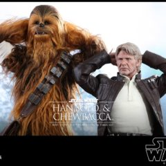 Hot Toys – Star Wars: The Force Awakens Han Solo and Chewbacca
